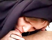 Arabic Woman Is Sucking A Rock Hard Dick Like A Whore And Enjoyi