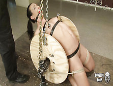 Sub Slut Wenona Bound Gets Bound And Toyed To Strong Orgasm In B