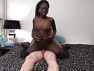 Dutch Ebony Beauty In Stockings First Time On Camera