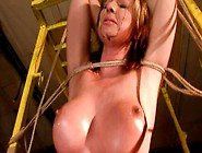 Busty Harlot Gabriella Gets Her Pussy Drilled With Dildo