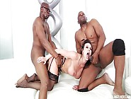 Milf Kendra Lust Fucks 2 Black Cocks