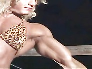 Sexy Fbb Muscle Posing