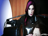 Jaw Dropping Emo Bitch Joanna Angel Sucks And Gets Her Butt Hole