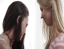 Two Girls That Love Pussy Licking Are Doing Hot Things On The So