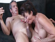Milf With Hot Hairy Hole Fucked By Her Man