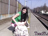 Public Agent Hitchhiking Part And Pantyhose Anal Brunette First