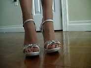 Foot Feet Sexy Legs Shoes Red Nail Polish - Xhamster