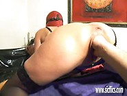Filthy Bitch Gets Her Pussy Fisted