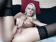 Chloe Cute Amateur Blonde Toying Asshole With Dildo