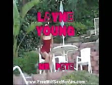 Young Layne Sucks Cock