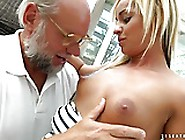 Grandpa Cumming Right To Angelina Julie