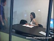 Camera Flagra Transa No Escritorio