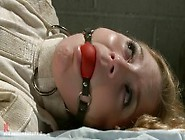 Dumb Straight Jacket Whore Aurora Snow Gets Whipped And Fucked I