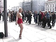 Blonde Fucked In Public