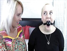 Mother Gags Daughter For The First Time