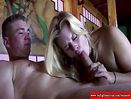 Real Dutch Hooker Giving Blowjob To Lucky Tourist