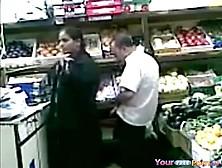 Rape In Grocery Store. Mp4