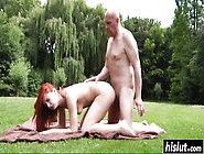 Eva Berger Gets Fucked By Oldman