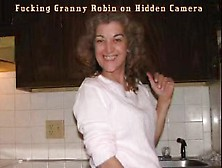 Fucking Granny Robin Hidden Camera 4/14/15 (Nightshot)