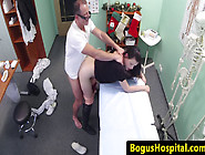 Euro Amateur Bentover And Fucked By Doctor