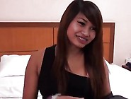 Pout Kissable Lips Asian Petite Girlfriend On Sex Tour With Whit