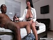 Black Guy Orally Pleasures Sexy White Girl