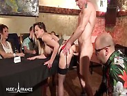 Joyful Brown Haired Sabrina Sweet Sex Talents Tested In Front Of