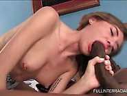Slim Teen Rubbing And Licking Black Giant Dick