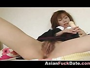 Korean Girl Masturbating And Gets Help