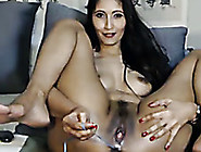 Stunning Asian Mommy Stuffs Her Ass Hole With Anal Bead In Front