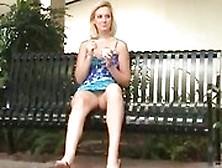 Ftv Julie In Public Skirt No Panties
