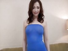 Japanese Busty Beauty Milf Loves Young Cocks.
