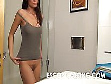 Petite Milf Wants To Be Escort And Is Secretly Filmed