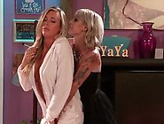 Kleio Valentien And Samantha Saint Enjoy Lesbian Lusts