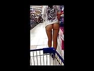 No Panties Mini Dress Flashing In Store Publicflashing. Me