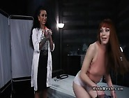 Female Doctor Cures Patients With Anal Fuck