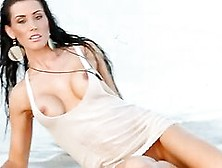 Kristy Joe Does A Stunning Exotic Shoot On The Beach