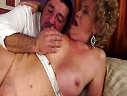 Disgusting Old Fatso With Huge Ass Gets Her Mature Cunt Pounded