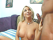 Blazing Blonde Milf With Big Tits Giving Her Guy An Orgasmic Blo