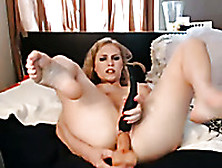 Spicy Squirting Video Of Sexy Blonde Girl With Big Sex Toy