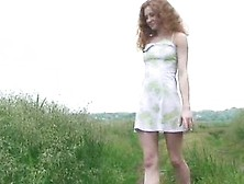 Nude Mature Redhair Stripping