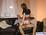 Lingerie Clad Beauty Rides This Hard Cock