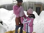 Teens Hot In Snow