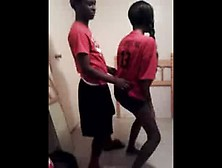 Sister And Brother Doing Red Nose Dance