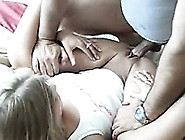 Shapely Blonde Gives Head And Then Gets Nailed Hard