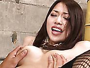 Nasty Asian Guy Licks Hairy Pussy Of His Slim Chick Greedily