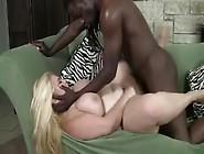 Pretty Blonde Bbw Takes On Bbc