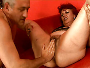 Chubby Mature Granny With Bearded Clam Is Fisted Bad In Hardcore
