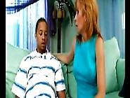 Blonde Mom Loves Young Black Cock
