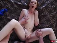 Redhead Babe Katy Kiss Daddys Little Whore